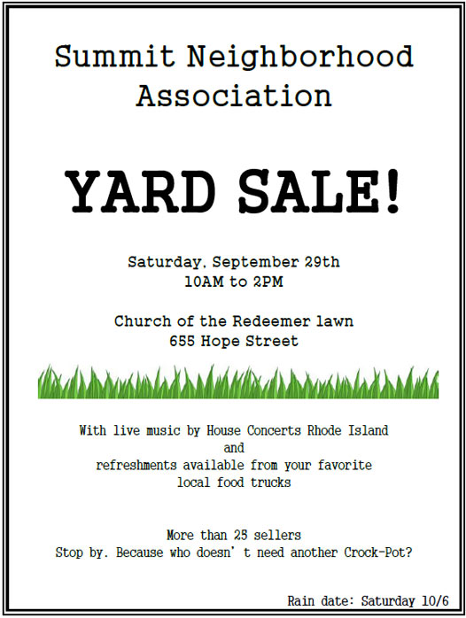 Yard Sale posted