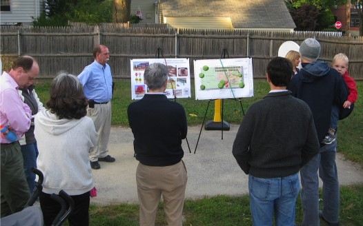 """Plans for improved """"tot lot"""" include community gardens"""