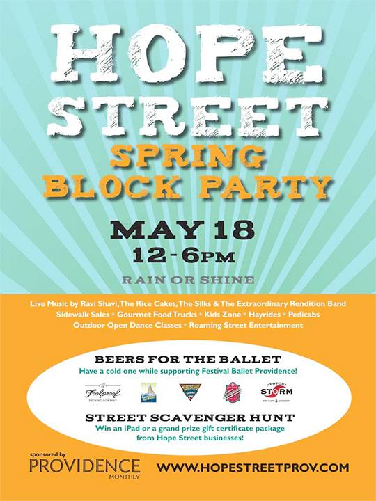 Hope Street Block Party