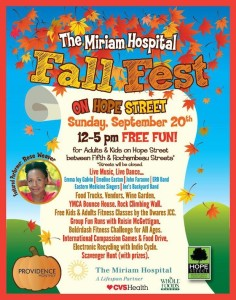 Miriam:Hope St fall fest