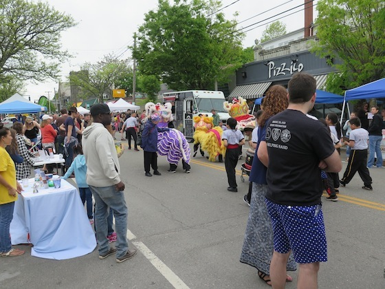 The Hope Street block party on May 21 last year.