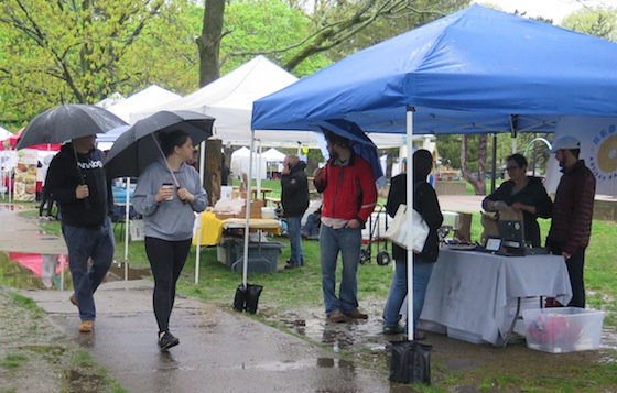 The Hope Street Farmers Market returned on May 6 in Lippitt Park at the intersection of Hope Strret and Blackstone Boulevard. It will be there Saturdays from 9 a.m. to noon and Wednesday from 3 p.m. to 6 p.m.