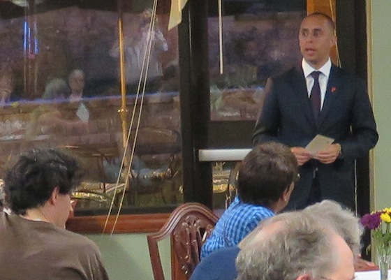 Providence Mayor Jorge Elorza outlines his budget priorities to eSNA members.